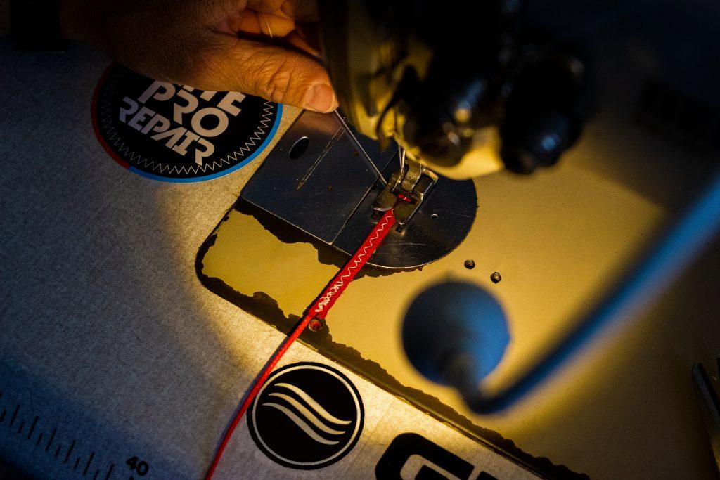 Reparación líneas barras kitesurf - Kite Pro Repair